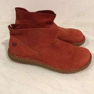 BORN handcrafted suede leather shoes, booties